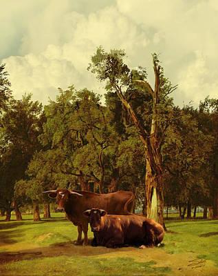 Pastureland Poster by Schwartz