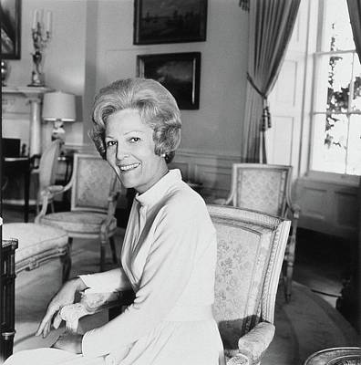 Pat Nixon In The White House Poster