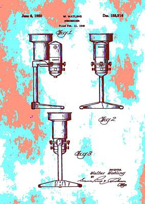 Patent Art Blender Poster by Dan Sproul