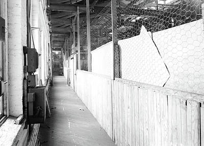 Paterson, New Jersey - Textiles. Passageway Poster