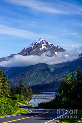 Path Through Alaska Poster