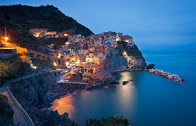 Path To Manarola Poster by Mike Reid