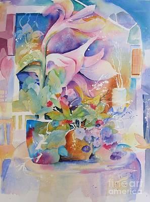 Patio Garden Poster