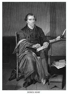 Patrick Henry Poster by Historic Image