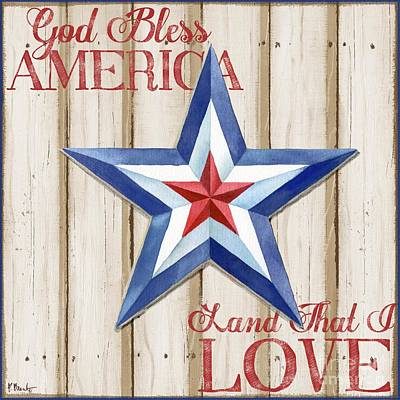 Patriotic Spirit Barn Star IIi Poster