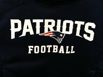 Patriots Football Poster