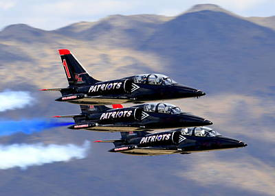 Patriots Perform At Reno Air Races Poster
