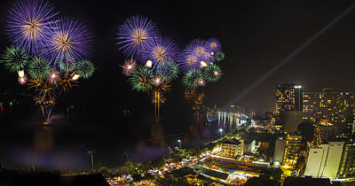 Pattaya Fire Work 2012 Festival Poster