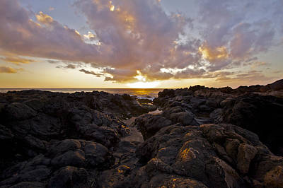 Pau Hana Sunset Poster by Brian Governale