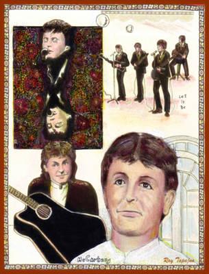 Let It Be Paul Mccartney Poster