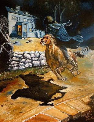 Paul Revere's Ride Poster by Robert Moore