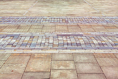 Paving Background Poster