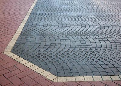 Paving Bricks Poster by Pete Trenholm