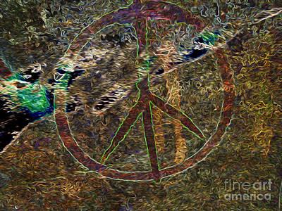 Peace Poster by Dan Julien