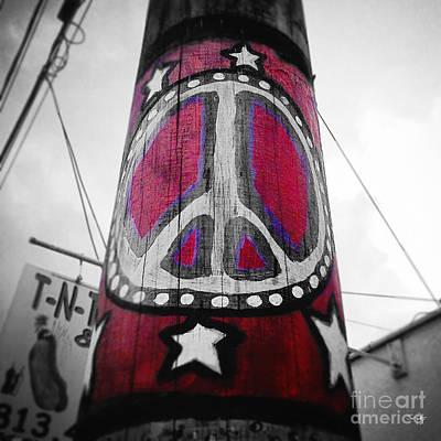 Peace Pole Poster