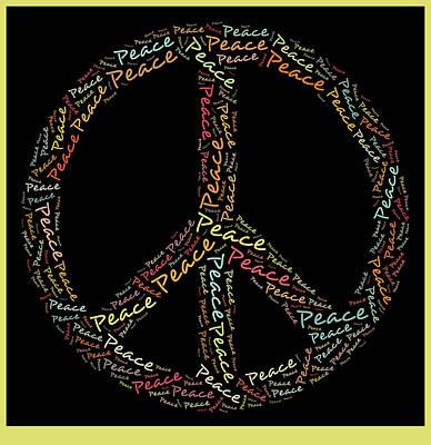 Peace Symbol - 0202 Poster