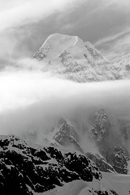 Peak 11,300, Ruth Gorge, Alaska Range Poster
