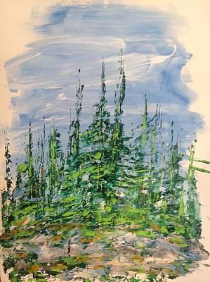 Peak Of Pines Poster