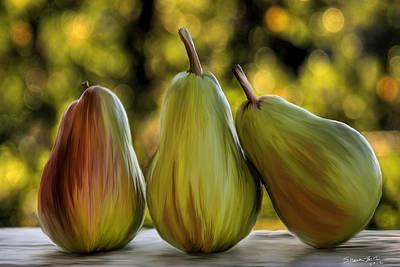 Pear Buddies Poster