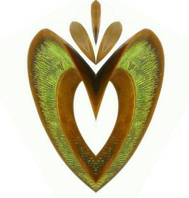 Pear Heart Poster