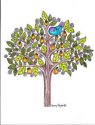 Pear Tree Poster