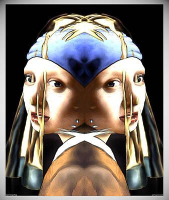 Pearl Earring Pearl Poster
