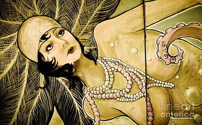 Pearl Mermaid  Poster