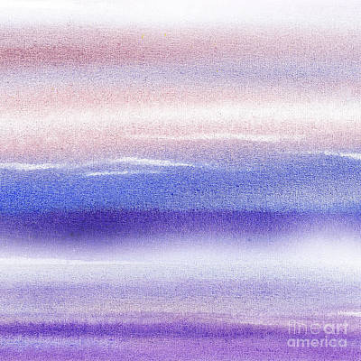 Pearly Sky Abstract I Poster