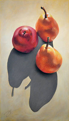 Pears Pastel Poster