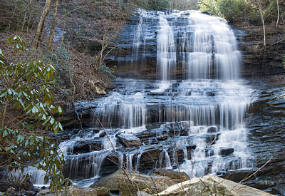 Pearsons Falls 4 Poster by Chris Flees