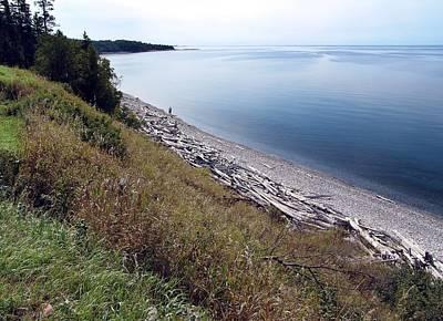 Pebble Beach On Lake Superior Poster