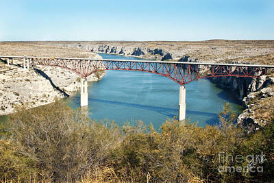 Poster featuring the photograph Pecos Bridge by Erika Weber