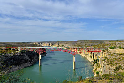 Pecos River High Bridge Poster by Christine Till