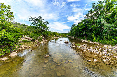 Pedernales River Poster by David Morefield