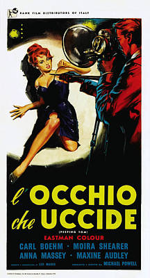 Peeping Tom, Aka Locchio Che Uccide Poster by Everett