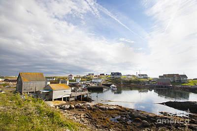 Peggys Cove Nova Scotia Poster