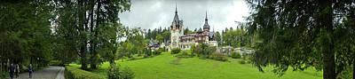Peles Castle In The Carpathian Poster