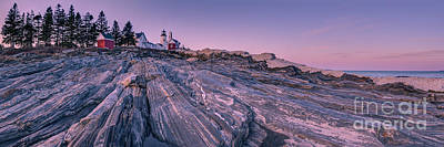 Pemaquid Lighthouse  Poster by Abe Pacana