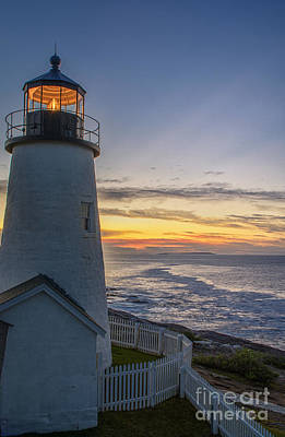 Pemaquid Lights Poster