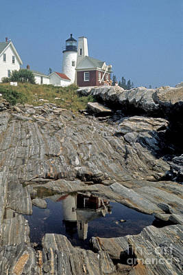 Poster featuring the photograph Pemaquid Point Light by ELDavis Photography