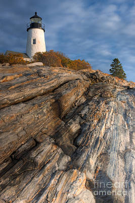Pemaquid Point Light II Poster by Clarence Holmes