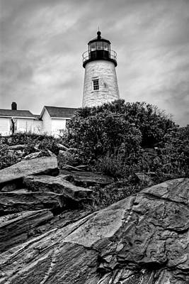 Pemaquid Point Poster by Nikolyn McDonald