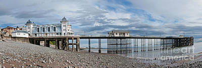 Penarth Pier Panorama 1 Poster by Steve Purnell