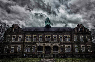 Pennhurst Asylum Poster by Bill Berry
