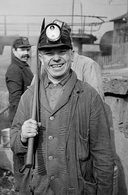 Pennsylvania Coal Miner In 1939 Poster