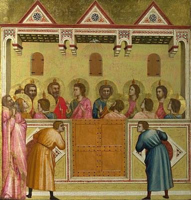 Pentecost Poster by Giotto di Bondone
