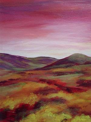 Pentland Hills Scotland Poster