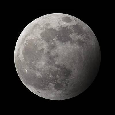 Penumbral Lunar Eclipse Poster