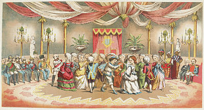 People Dancing Poster by British Library