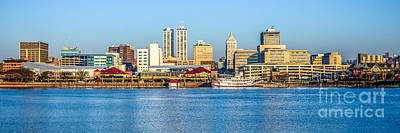Peoria Panoramic Picture Poster by Paul Velgos